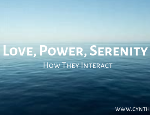 Love, Power, Serenity – How They Interact