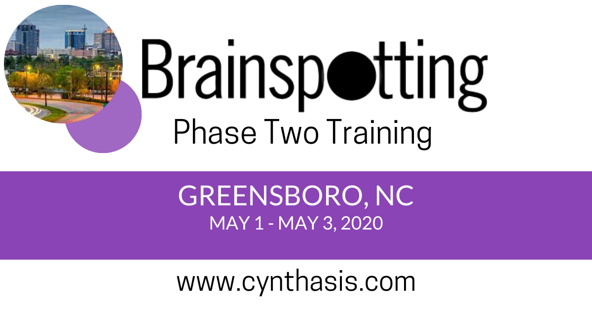 brainspotting training phase two greensboro north carolina