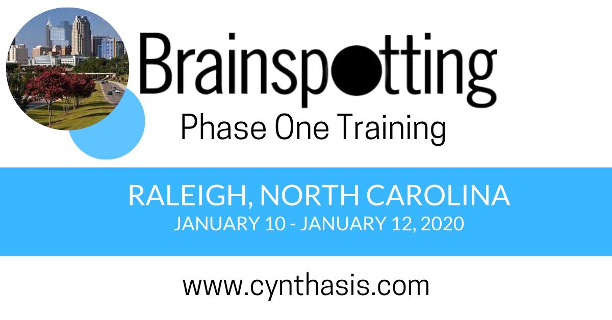 brainspotting training phase one raleigh north carolina