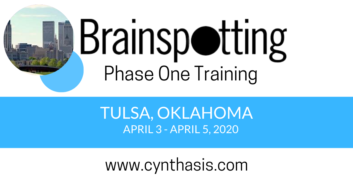 brainspotting training phase one tulsa oklahoma