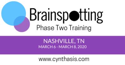 nashville brainspotting training phase two